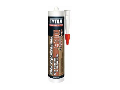 Tytan Professional Строительный клей для панелей и молдингов №910 белый 440г в Челябинске