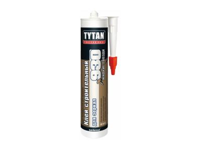Tytan Professional Строительный клей для зеркал №930 бежевый 380г в Челябинске
