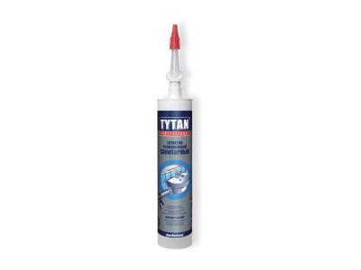 TYTAN Professional Герметик силиконовый санитарный бесцветный, 280 мл в Челябинске