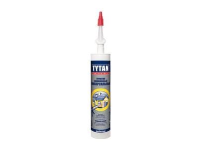 TYTAN Professional Герметик силиконовый универсальный белый, 280 мл в Челябинске