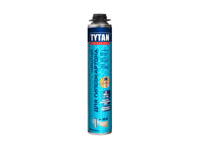 Tytan Professional Пено-клей для гипсокартона, 840 мл в Челябинске